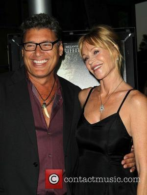 Steven Bauer and Melanie Griffith - Premiere Of