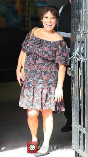 Tina Malone - Tina Malone Leaving the ITV Studios - London, United Kingdom - Wednesday 14th August 2013