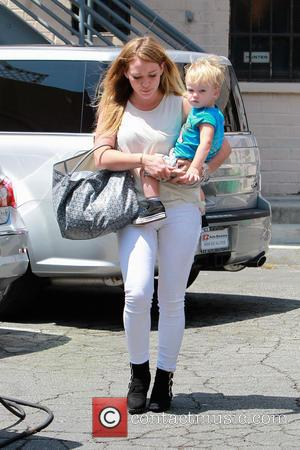 Hillary Duff and Luca Comrie