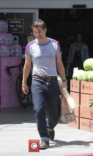 Olivier Martinez - Olivier Martinez seen shopping at a supermarket - Los Angeles, California, United States - Thursday 15th August...