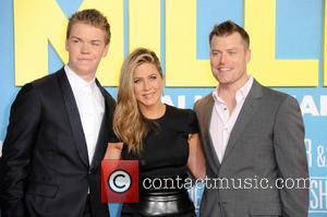 Will Poulter, Jennifer Aniston and Rawson Marshall Thurber