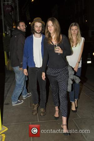 tom sturridge - Sienna Miller and Matthew Williamson leaving the Groucho club - London, United Kingdom - Thursday 15th August...