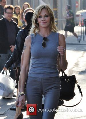 Melanie Griffith - Melanie Griffith outside of Jimmy Kimmel Live! in Hollywood - Los Angeles, CA, United States - Thursday...