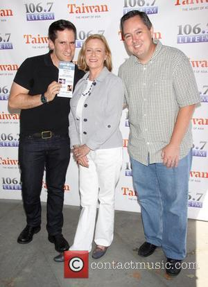 Seth Rudetsky, Eve Plumb and Rich Kaminski