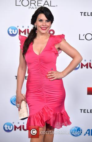Mana Raquenel Santa Diabla - Telemundo's Premios Tu Mundo Awards 2013 - Arrivals - Miami, FL, United States - Thursday...