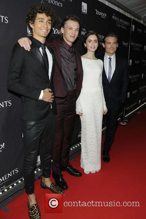 Robert Sheehan, Jamie Campbell Bower, Lily Collins and Kevin Zegers