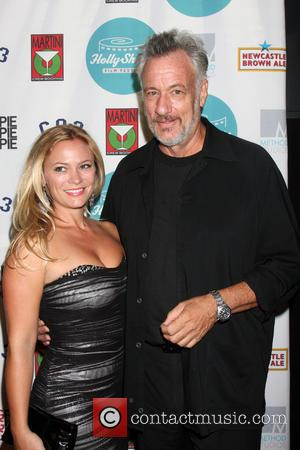 Amy Hendrick and John De Lancie