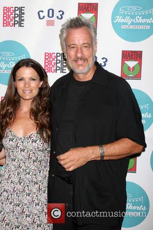 Melissa Claire Egan and John De Lancie