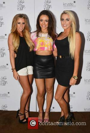 Duffy, Holly Keating, Kelly Donegan and Calum Best