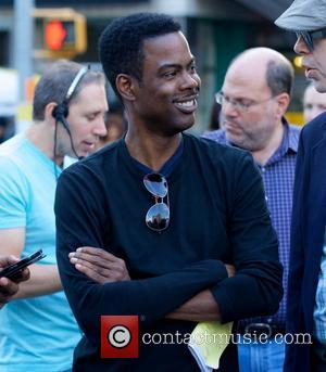 Chris Rock - Chris Rock in Union Square filming chris rock untitled movie - New York City, NY, United States...