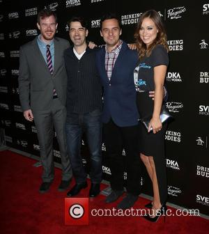 Joe Swanberg, Ron Livingston, Jake Johnson and Olivia Wilde
