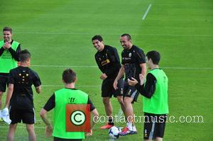 Luis Suarez - Luis Suarez was all smiles and looked like he was glad to be back training with the...