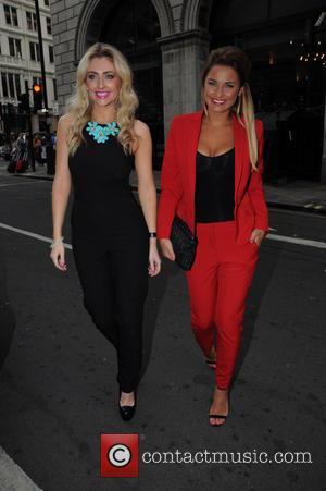 Gemma Merna and Sam Faiers - Robert Mickey Maughon - book launch party at The Ritz Carlton - London, United...