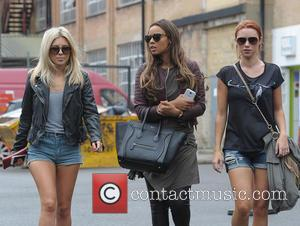 Mollie King, Rochelle Humes and Una Healy