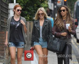 Una Healy, Mollie King and Rochelle Humes