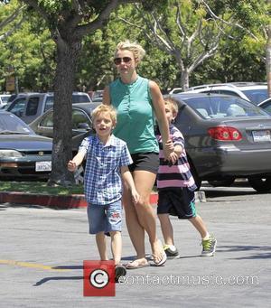 Britney Spears, Sean Federline and Jayden James Federline