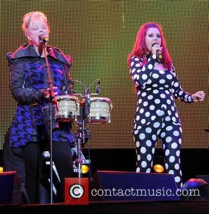 The B-52's, Kate Pierson and Cindy Wilson