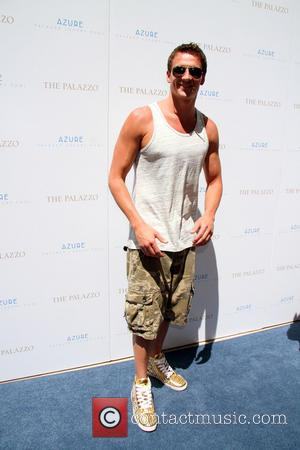 Ryan Lochte - 11 Time Olympic Medalist RYAN LOCHTE Hosts At Azure Pool Inside Palazzo Hotel And Casino In Las...