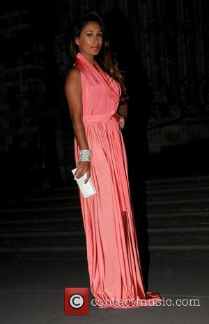 Preeya Kalidas - Wedding reception for Tasmin Lucia-Khan and Junaid Zaman held at the Natural History Museum - Arrivals -...