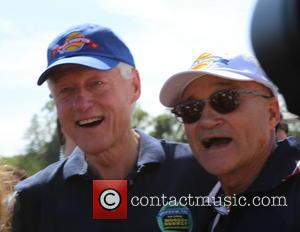 Bill Clinton and Ray Kelly