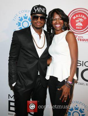 Ne-yo and Mother Loraine Smith