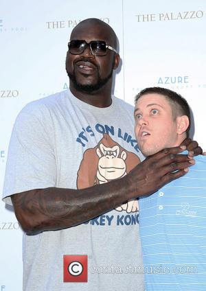 Shaquille O'Neal - Shaquille O'Neal Pool Party at Azure At The Palazzo Resort and Casino Las Vegas - Las Vegas,...