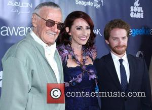 Stan Lee, Kristen Nedopak and Seth Green
