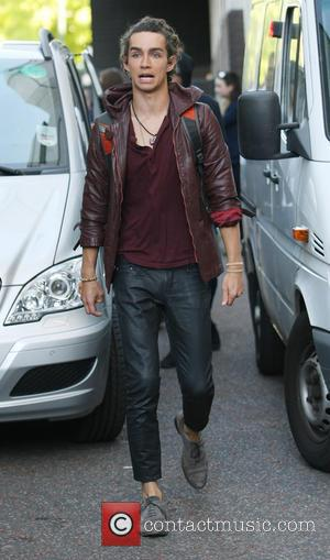 Jamie Cambell Bower - Celebrities Leaving the ITV Studios - London, United Kingdom - Monday 19th August 2013