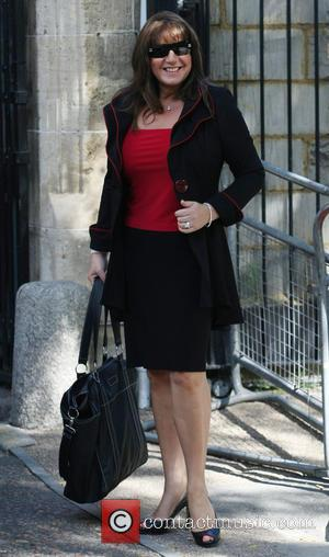 Jane Mcdonald - Jane Mcdonald arriving at the ITV - London, United Kingdom - Monday 19th August 2013