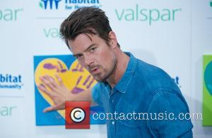 Josh Duhamel Joins Charity Painting Session