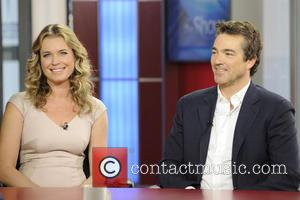Rebecca Romijn and Jon Tenney