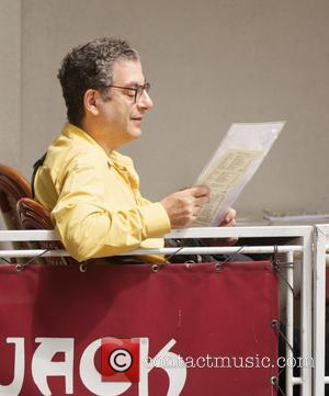 Michael Musto - Michael Musto seen in the East village in New York City having Lunch - New York City,...