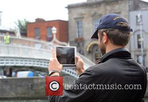 Chris O'Dowd - Actor Chris O'Dowd brought his Boyle,Co.Rosscommon based SKY 1 comedy series 'Moone Boy' to Dublin this afternoon...