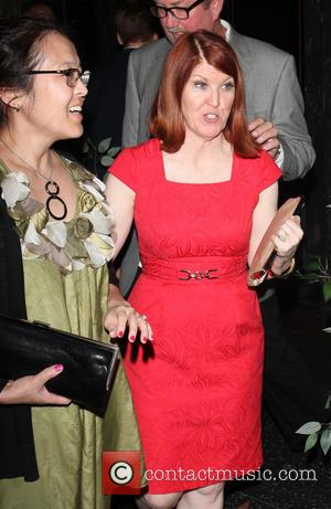 Kate Flannery - Celebrities on a night out at Hemingway's Lounge in Hollywood - Los Angeles, CA, United States -...