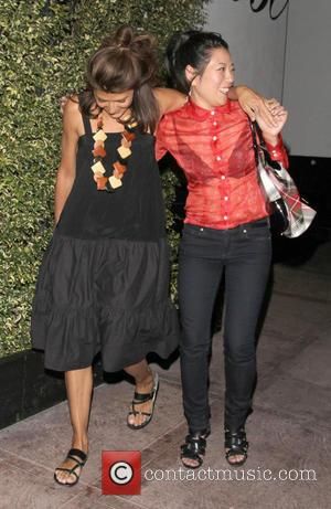 Marisa Tomei - Celebrities on a night out at Hemingway's Lounge in Hollywood - Los Angeles, CA, United States -...