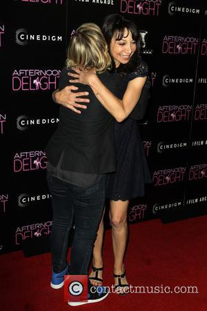 Amy Poehler and Illeana Douglas