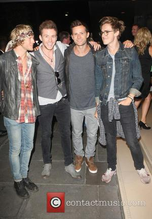 Mcfly - One Direction After Party - London, United Kingdom - Tuesday 20th August 2013