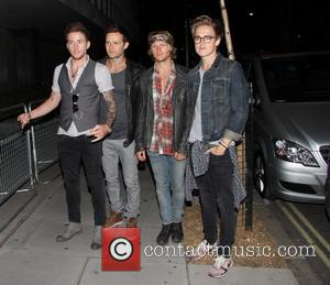 Tom Fletcher, Danny Jones, Dougie Poynter and Harry Judd of McFly - 'One Direction: This Is Us' - After Party...