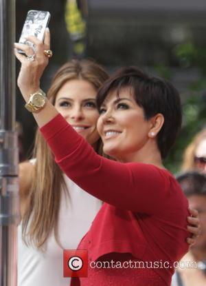 Kris Jenner and Maria Menounous