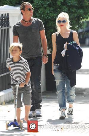 Gavin Rossdale, Gwen Stefani and Kingston Rossdale
