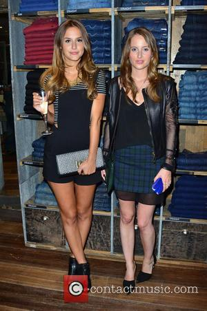 Lucy Watson and Rosie Fortescue