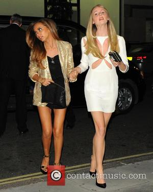 Jade Thirlwall and Diana Vickers