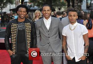 Aston Merrygold, J.b. Gill, Marvin Humes and One Direction