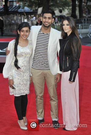 Amir Khan and guests - 'One Direction: This Is Us' - World premiere held at the Empire Leicester Square -...