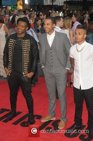 Aston Merrygold, Marvin Humes and Ortise Williams