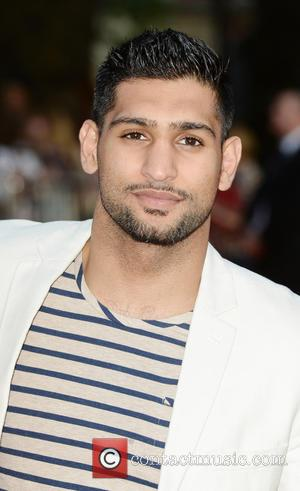 Amir Khan - World premiere of 'One Direction: This Is Us' - Arrivals - London, Ukraine - Tuesday 20th August...