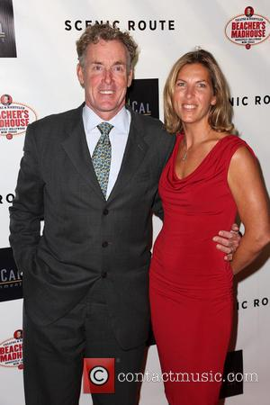 John C. McGinley and Nichole McGinley - Celebrities attend Scenic Route Los Angeles Premiere at Chinese Theater 6 - Hollywood....