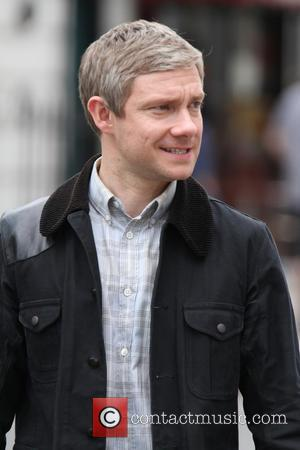 martin freeman - Sherlock filming in London - London, United Kingdom - Wednesday 21st August 2013