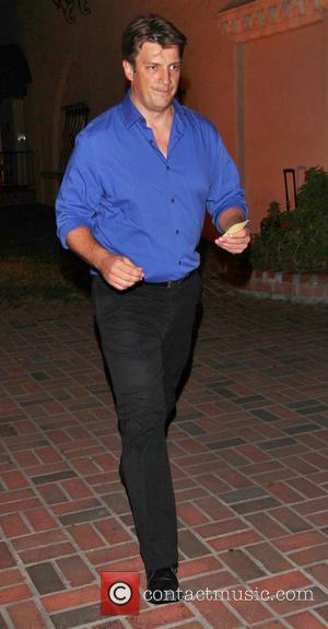 Nathan Fillion - Celebrities outside The Cat & Fiddle restaurant - Los Angeles, California, United States - Wednesday 21st August...
