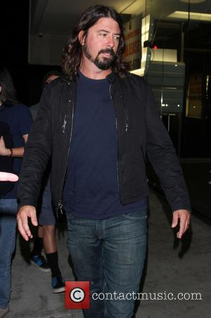 Dave Grohl - Celebrities outside The Cat & Fiddle restaurant - Los Angeles, California, United States - Wednesday 21st August...